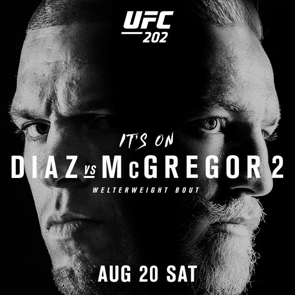 UFC 202 Main Card Picks