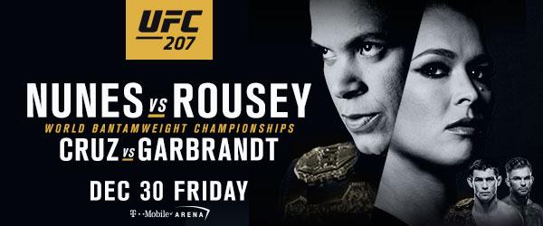 UFC 207: Ronda'sReturn