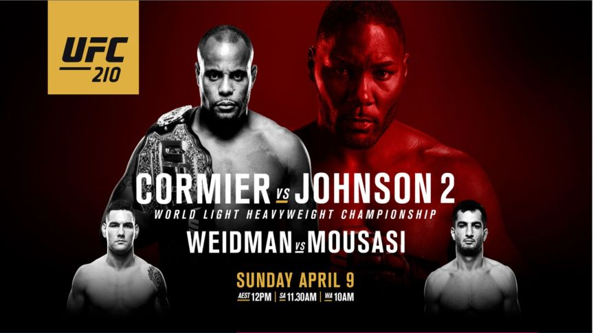 UFC 210: We're in New YorkAgain?