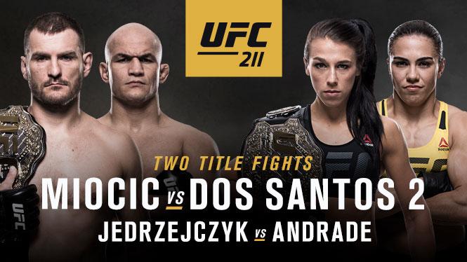 UFC 211: Everything is Bigger inTexas