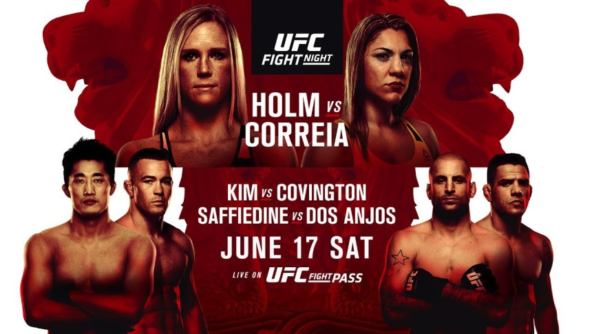 UFC Fight Night 111: Good Morning Singapore