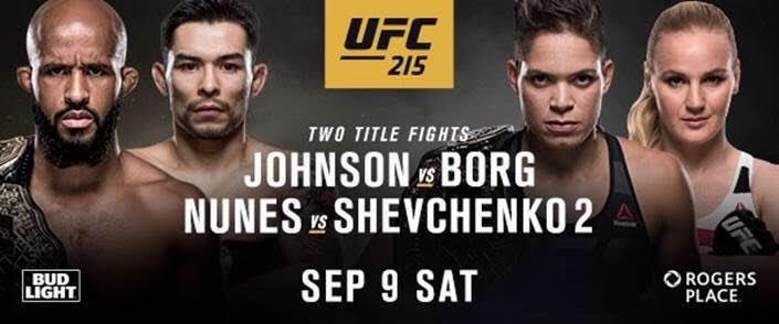 UFC 215 – Daily FantasyPicks