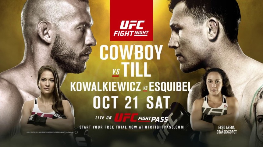 UFC Fight Night Gdansk – Daily Fantasy Picks