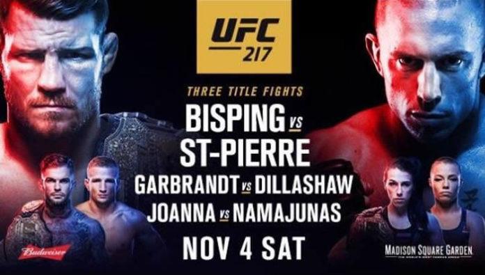 UFC 217 – Daily FantasyPicks