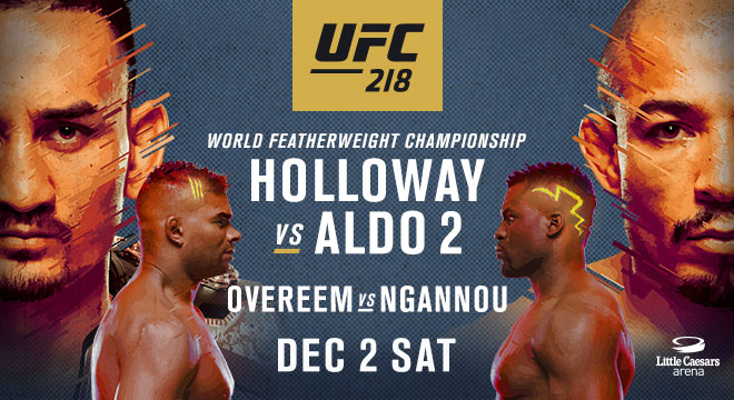 UFC 218 – Daily Fantasy Picks