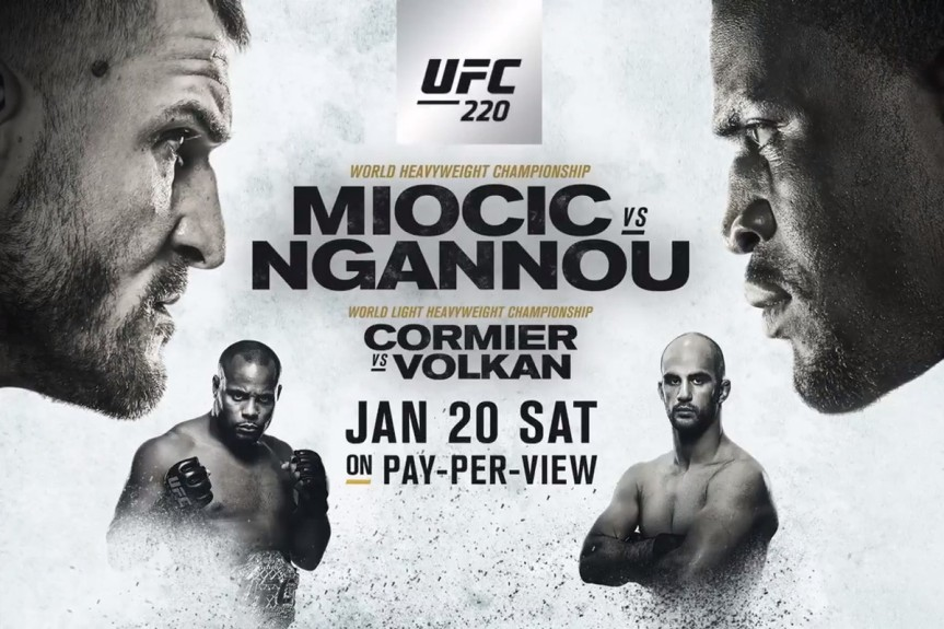 UFC 220 Daily Fantasy Picks
