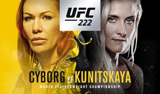UFC 222 Daily FantasyPicks