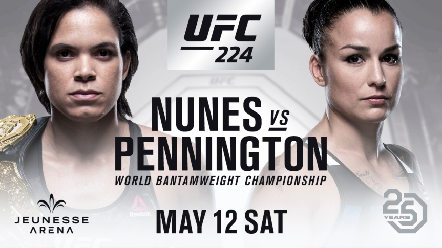 UFC 224 Daily Fantasy Picks