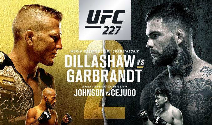 UFC 227 Daily FantasyPicks