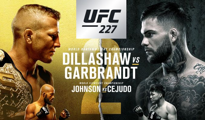 UFC 227 Daily Fantasy Picks