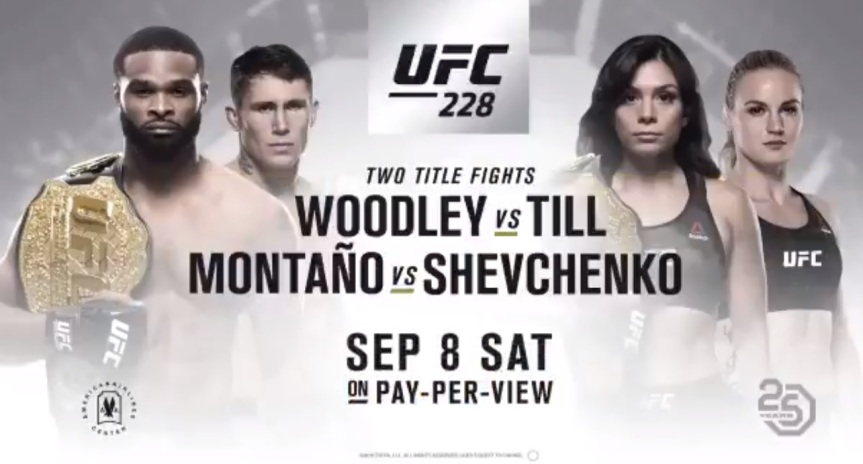 UFC 228 Daily Fantasy Picks