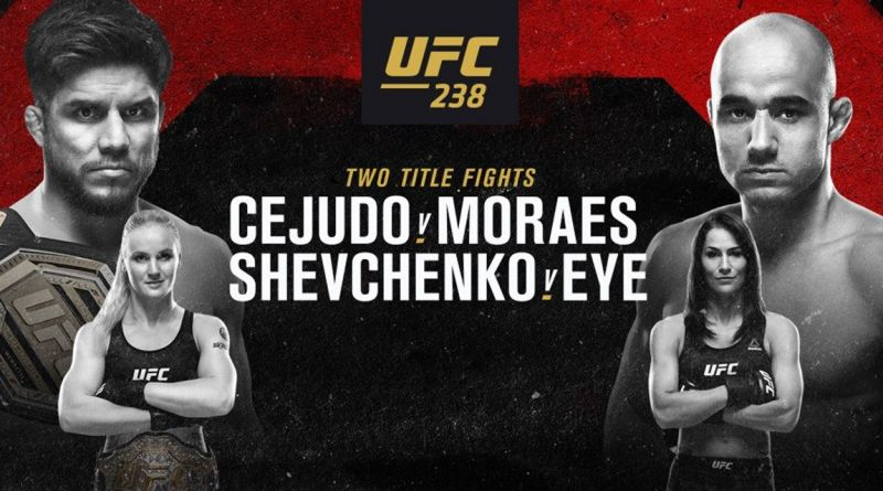 UFC 238 Daily Fantasy Picks