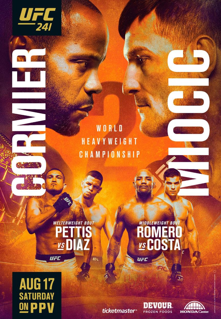 UFC 241 Daily Fantasy Picks