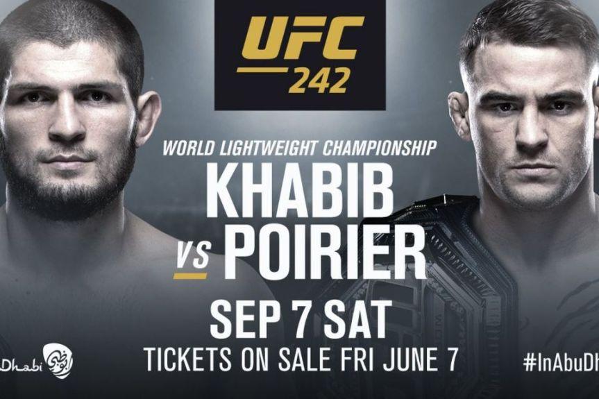 UFC 242 Daily FantasyPicks