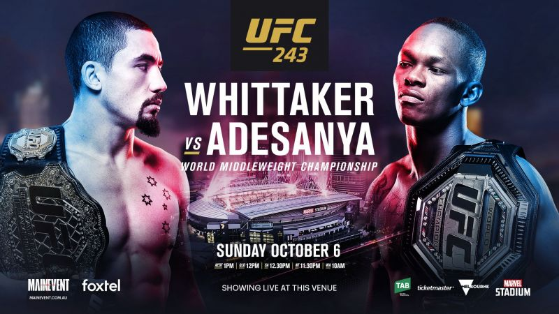 UFC 243 Daily Fantasy Picks